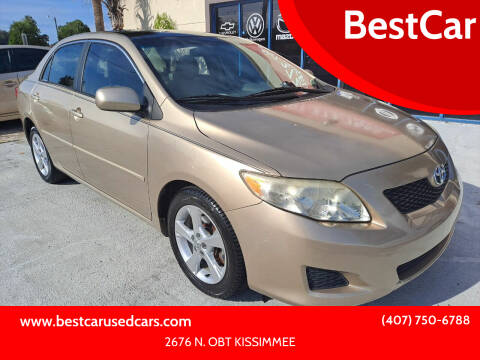 2009 Toyota Corolla for sale at BestCar in Kissimmee FL