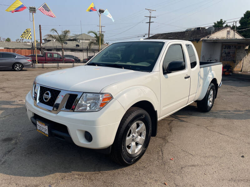 2013 Nissan Frontier for sale at JR'S AUTO SALES in Pacoima CA