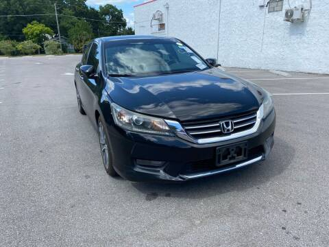 2013 Honda Accord for sale at LUXURY AUTO MALL in Tampa FL