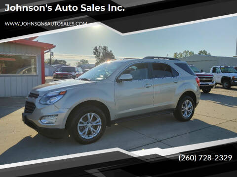 2016 Chevrolet Equinox for sale at Johnson's Auto Sales Inc. in Decatur IN