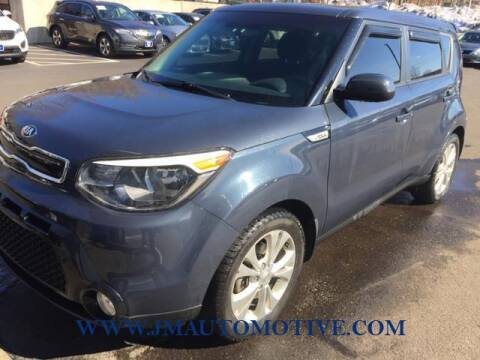 2016 Kia Soul for sale at J & M Automotive in Naugatuck CT