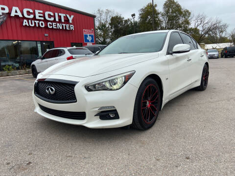 2017 Infiniti Q50 for sale at Space City Auto Center in Houston TX