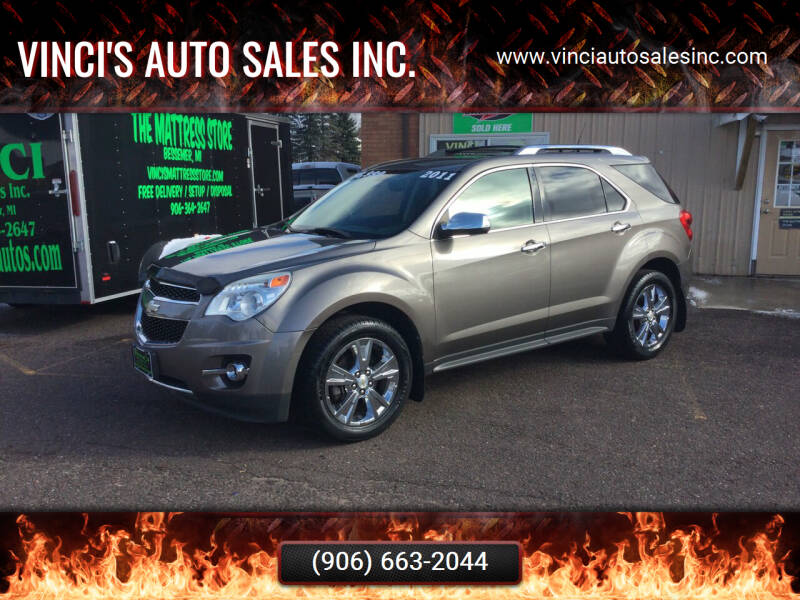 2011 Chevrolet Equinox for sale at Vinci's Auto Sales Inc. in Bessemer MI