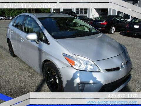 2015 Toyota Prius for sale at Autoplex Motors in Lynnwood WA