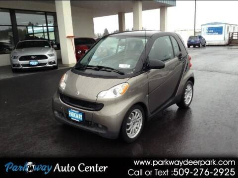 2011 Smart fortwo for sale at PARKWAY AUTO CENTER AND RV in Deer Park WA