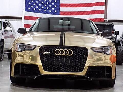 2013 Audi A5 for sale at Texas Motor Sport in Houston TX