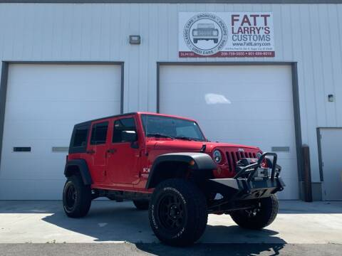 2007 Jeep Wrangler Unlimited for sale at Fatt Larry's Customs in Sugar City ID