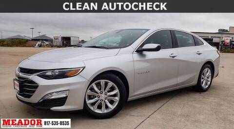 2020 Chevrolet Malibu for sale at Meador Dodge Chrysler Jeep RAM in Fort Worth TX