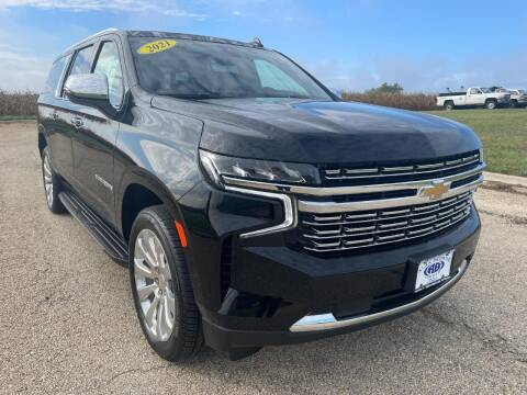 2021 Chevrolet Suburban for sale at Alan Browne Chevy in Genoa IL