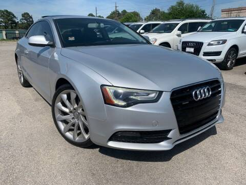 2013 Audi A5 for sale at KAYALAR MOTORS in Houston TX