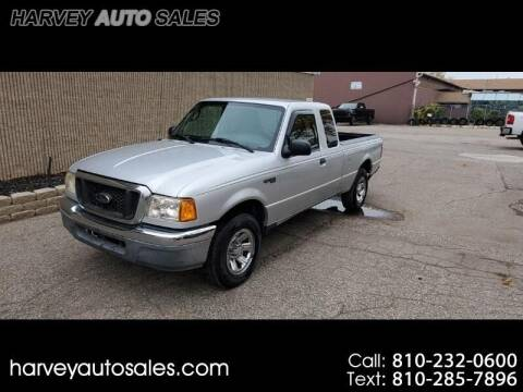 2005 Ford Ranger for sale at Harvey Auto Sales, LLC. in Flint MI