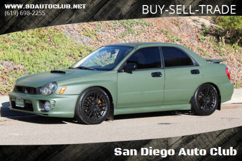 2002 Subaru Impreza for sale at San Diego Auto Club in Spring Valley CA
