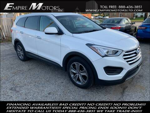 2013 Hyundai Santa Fe for sale at Empire Motors LTD in Cleveland OH