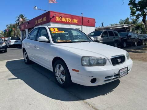 2003 Hyundai Elantra for sale at 3K Auto in Escondido CA