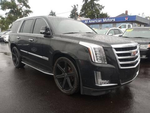 2015 Cadillac Escalade for sale at All American Motors in Tacoma WA