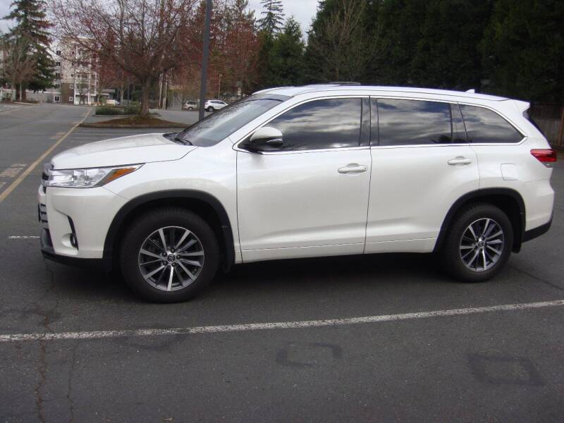 2017 Toyota Highlander for sale at Western Auto Brokers in Lynnwood WA