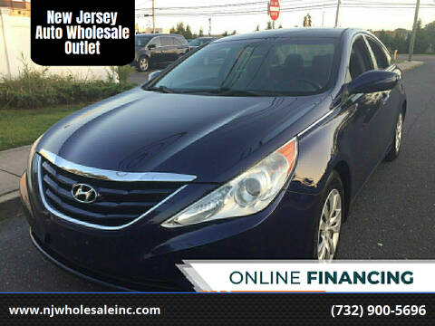 2011 Hyundai Sonata for sale at New Jersey Auto Wholesale Outlet in Union Beach NJ