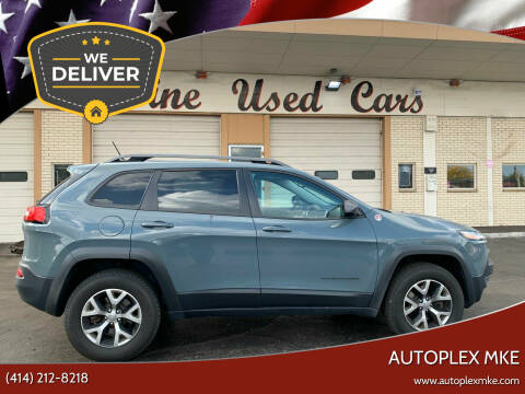 2015 Jeep Cherokee for sale at Autoplexwest in Milwaukee WI