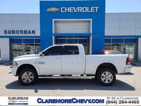 2018 RAM Ram Pickup 2500 for sale at Suburban Chevrolet in Claremore OK