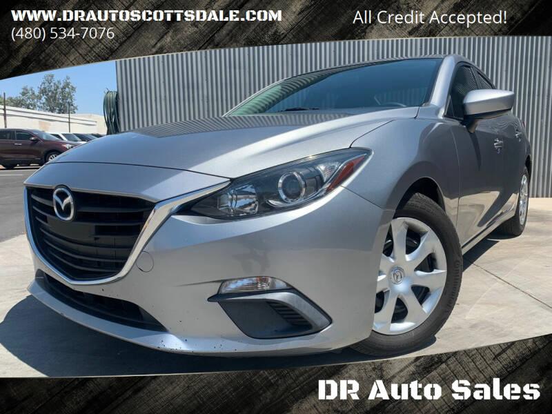 2015 Mazda MAZDA3 for sale at DR Auto Sales in Scottsdale AZ
