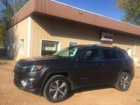 2019 Jeep Cherokee for sale at Palmer Welcome Auto in New Prague MN