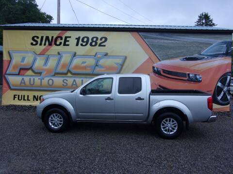 2017 Nissan Frontier for sale at Pyles Auto Sales in Kittanning PA