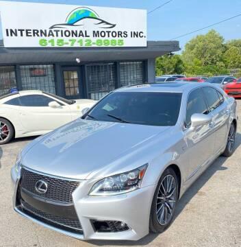 2014 Lexus LS 460 for sale at International Motors Inc. in Nashville TN
