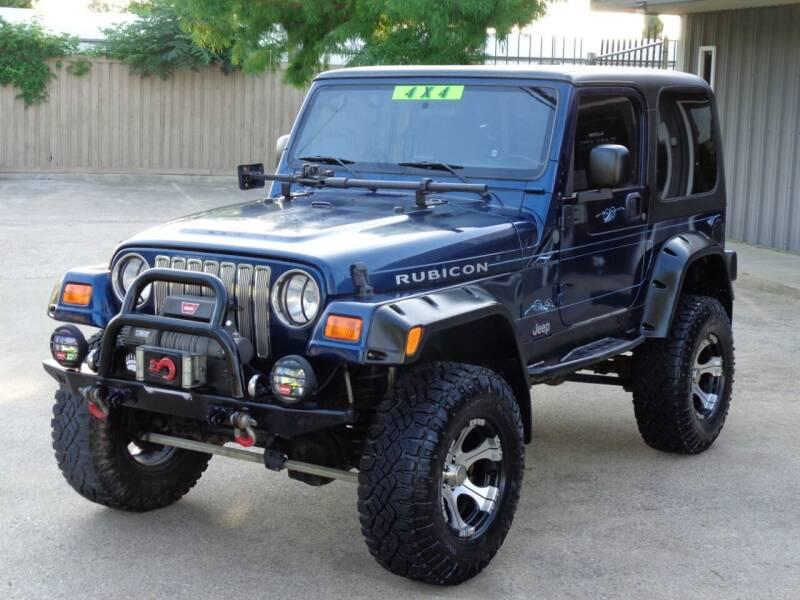 2003 Jeep Wrangler for sale at Auto Starlight in Dallas TX