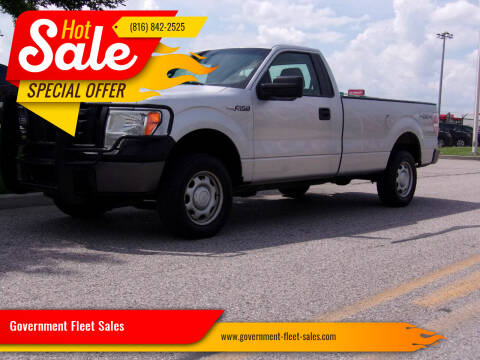 2010 Ford F-150 for sale at Government Fleet Sales in Kansas City MO