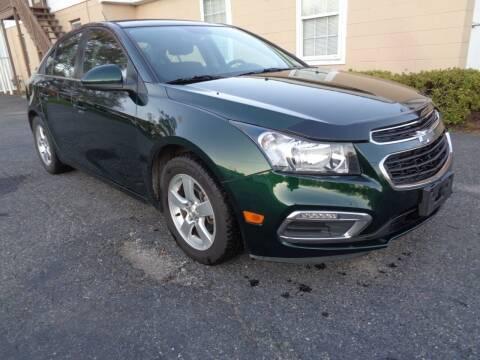 2015 Chevrolet Cruze for sale at Liberty Motors in Chesapeake VA