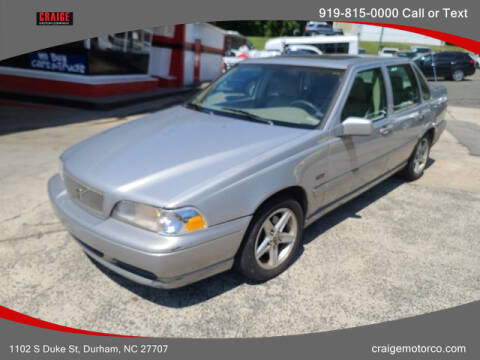 1998 Volvo S70 for sale at CRAIGE MOTOR CO in Durham NC