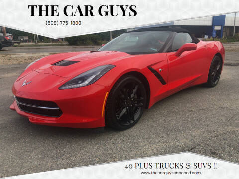 2019 Chevrolet Corvette for sale at The Car Guys in Hyannis MA