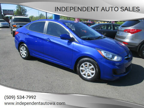 2013 Hyundai Accent for sale at Independent Auto Sales in Spokane Valley WA