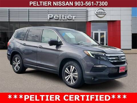 2018 Honda Pilot for sale at TEX TYLER Autos Cars Trucks SUV Sales in Tyler TX