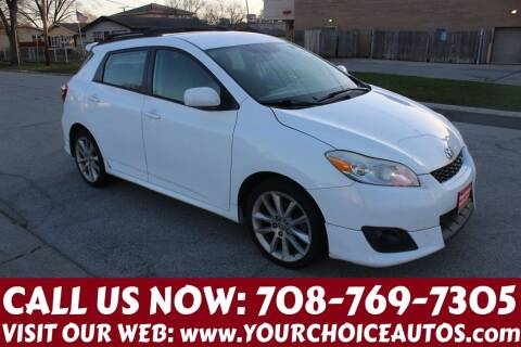 2009 Toyota Matrix for sale at Your Choice Autos in Posen IL