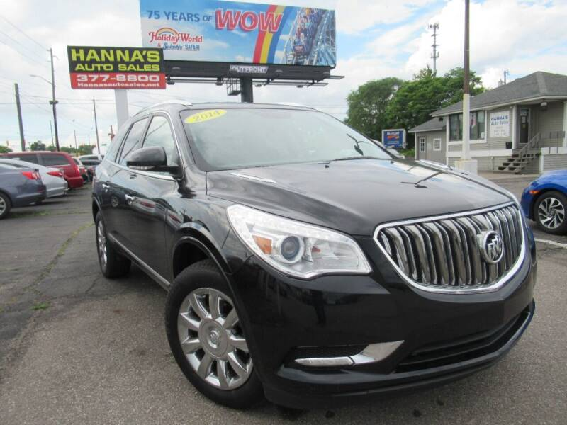 2014 Buick Enclave for sale at Hanna's Auto Sales in Indianapolis IN