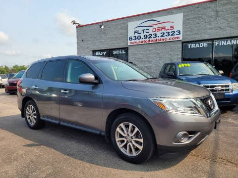 2015 Nissan Pathfinder for sale at Auto Deals in Roselle IL