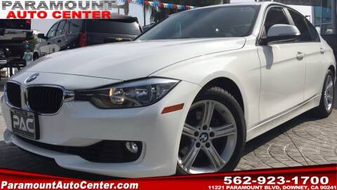 2013 BMW 3 Series for sale at PARAMOUNT AUTO CENTER in Downey CA