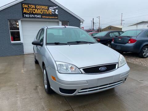 2007 Ford Focus for sale at Dalton George Automotive in Marietta OH