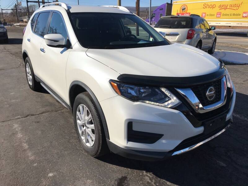 2018 Nissan Rogue for sale at Rinaldi Auto Sales Inc in Taylor PA