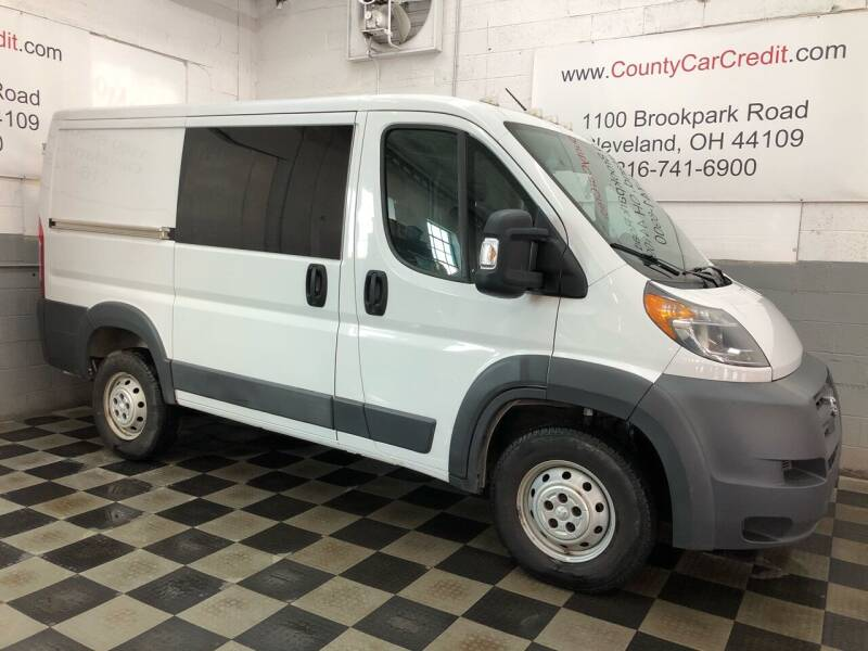 2015 RAM ProMaster Cargo for sale at County Car Credit in Cleveland OH