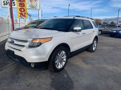2012 Ford Explorer for sale at Robert B Gibson Auto Sales INC in Albuquerque NM
