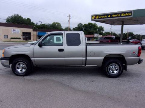 2003 Chevrolet Silverado 1500 for sale at R & S TRUCK & AUTO SALES in Vinita OK