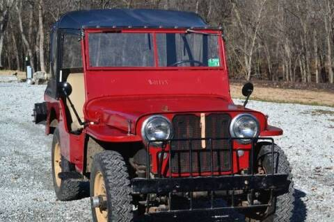 1947 Willys Jeep for sale at Haggle Me Classics in Hobart IN
