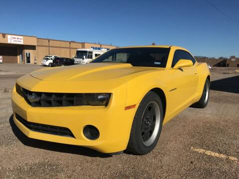 2012 Chevrolet Camaro for sale at BJ International Auto LLC in Dallas TX
