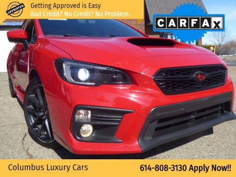 2018 Subaru WRX for sale at Columbus Luxury Cars in Columbus OH