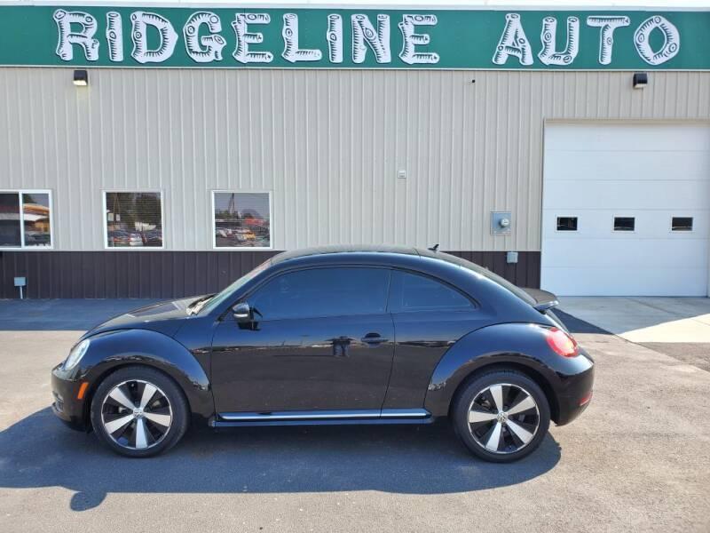 2012 Volkswagen Beetle for sale at RIDGELINE AUTO in Chubbuck ID