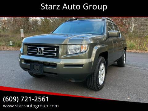 2006 Honda Ridgeline for sale at Starz Auto Group in Delran NJ
