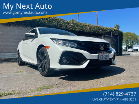 2018 Honda Civic for sale at My Next Auto in Anaheim CA