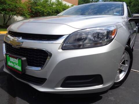 2015 Chevrolet Malibu for sale at Dasto Auto Sales in Manassas VA